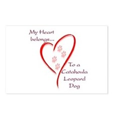 Catahoula Heart Belongs Postcards (Package of 8)