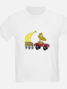 Monkey with Large Banana T-Shirt