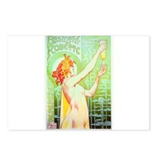 The Green Fairy - Absinthe Postcards (Package of 8