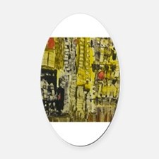 Cool One of a kind Oval Car Magnet