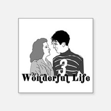 Its A Wonderful Life Stickers Its A Wonderful Life Sticker Designs Label Stickers Cafepress