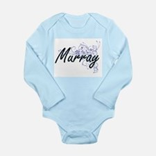 Murray surname artistic design with Flow Body Suit