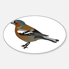 Male chaffinch Decal