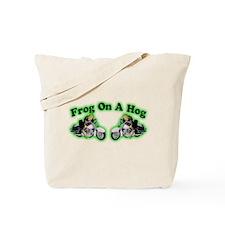 Frog Hog 2 Tote Bag