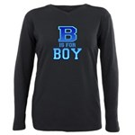 B is for Boy Plus Size Long Sleeve Tee