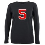 5 red.png Plus Size Long Sleeve Tee