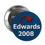 John Edwards 2008 Star Button