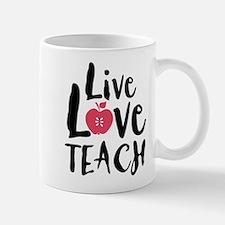 Live Love Teach Small Small Mug