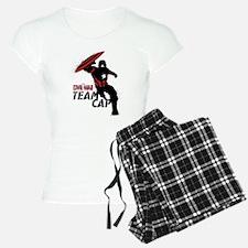 Captain America Black & Red Pajamas