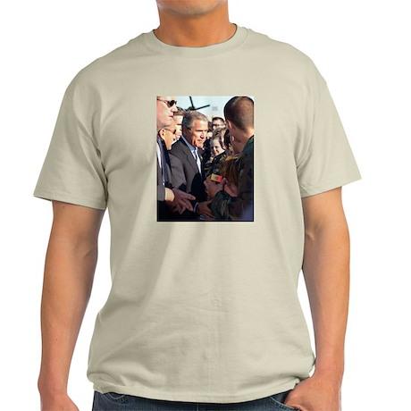 President George W. Bush Ash Grey T-Shirt