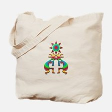 Two Kokopelli #1 Tote Bag