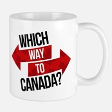 Which Way To Canada? Mugs