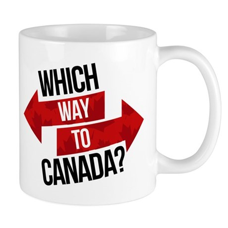 Which way to Canada Mug