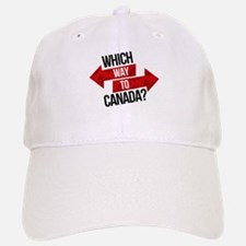 Which Way To Canada? Baseball Hat