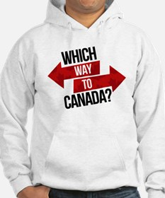Which Way To Canada? Hoodie