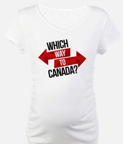 Which Way To Canada? Shirt