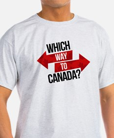 Which Way To Canada? T-Shirt