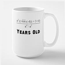 Algebra Equation 40th Birthday Mugs