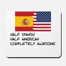 Half Spanish Completely Awesome Mousepad
