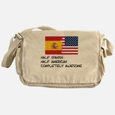 Half Spanish Completely Awesome Messenger Bag