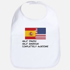 Half Spanish Completely Awesome Bib