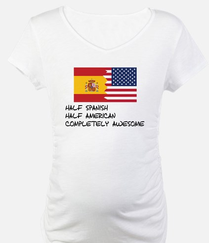 Half Spanish Completely Awesome Shirt