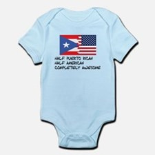 Half Puerto Rican Completely Awesome Body Suit