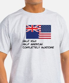Half Kiwi Completely Awesome T-Shirt