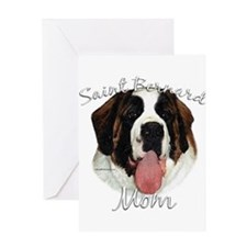 Saint Mom2 Greeting Card