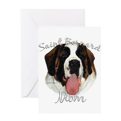 Saint Mom2 Greeting Card