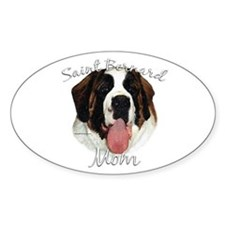Saint Mom2 Oval Decal