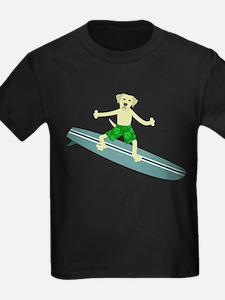Yellow Labrador Retriever Surfer T