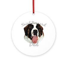 Saint Dad2 Ornament (Round)