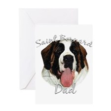 Saint Dad2 Greeting Card