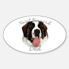 Saint Dad2 Oval Decal
