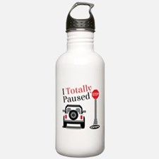 Totally Paused Water Bottle
