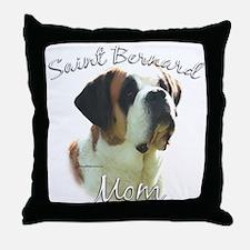 Saint Mom2 Throw Pillow