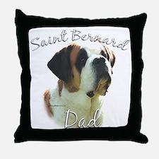 Saint Dad2 Throw Pillow