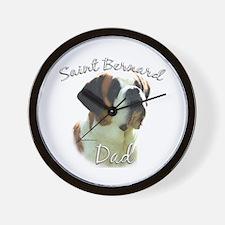Saint Dad2 Wall Clock