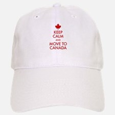 Keep Calm Move to Canada Hat