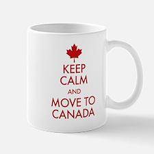 Keep Calm Move to Canada Mug