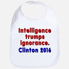 Intelligence trumps ignorance - Bib