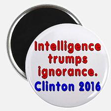 Intelligence trumps ignorance - Magnet
