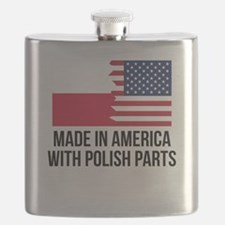 Made In America With Polish Parts Flask