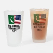 Made In America With Pakistani Parts Drinking Glas