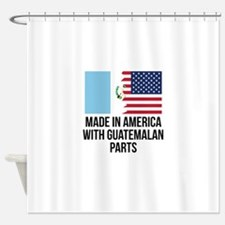 guatemala shower curtains guatemala fabric shower curtain liner. Black Bedroom Furniture Sets. Home Design Ideas