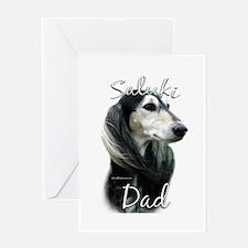 Saluki Dad2 Greeting Card