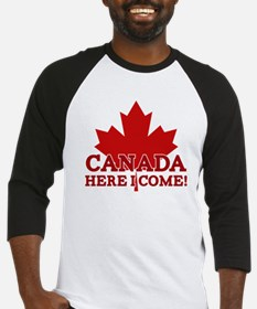 Canada Here I Come Baseball Jersey