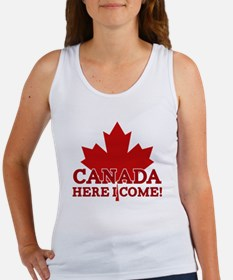 Canada Here I Come Women's Tank Top