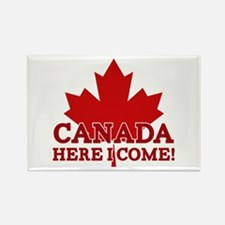 Canada Here I Come Rectangle Magnet